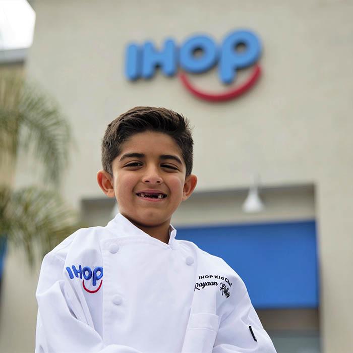 2021 National IHOP Kid Chef Champion, Rayaan